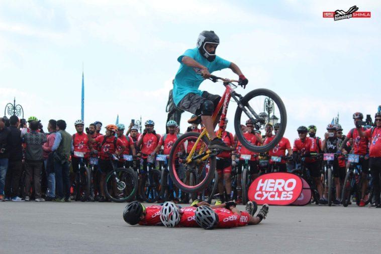 Lakshay Jangid: City stunt rider